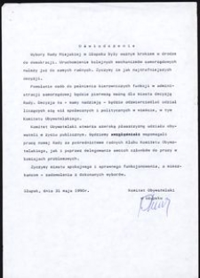 Oświadczenie [2]