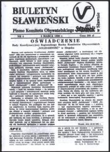 Biuletyn Sławieński, 1990, nr 4