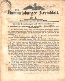 Rummelsburger Kreisblatt 1853