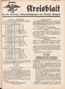 Kreisblatt für die amtlichen Bekanntmachungen des Kreises Belgard 1936 Nr 27