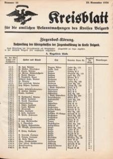 Kreisblatt für die amtlichen Bekanntmachungen des Kreises Belgard 1936 Nr 48