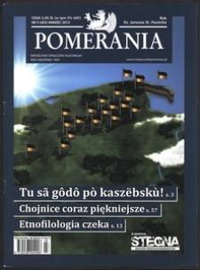 Pomerania : miesięcznik społeczno-kulturalny, 2013, nr 3
