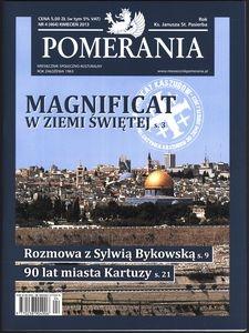 Pomerania : miesięcznik społeczno-kulturalny, 2013, nr 4
