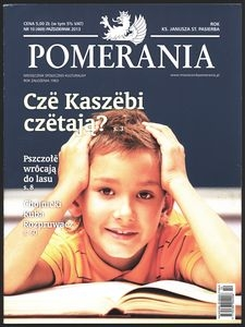 Pomerania : miesięcznik społeczno-kulturalny, 2013, nr 10