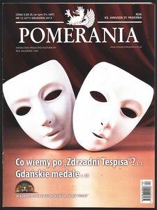 Pomerania : miesięcznik społeczno-kulturalny, 2013, nr 12