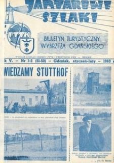 Jantarowe Szlaki, 1963, nr 1–2