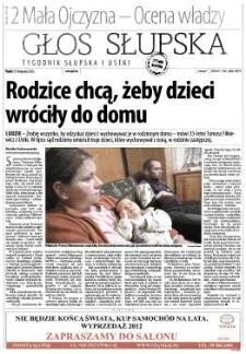 Głos Słupska : tygodnik Słupska i Ustki, 2012, listopad, nr 274