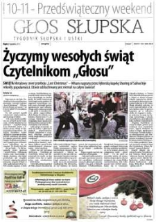 Głos Słupska : tygodnik Słupska i Ustki, 2012, grudzień, nr 298