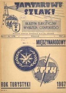 Jantarowe Szlaki, 1967, nr 1