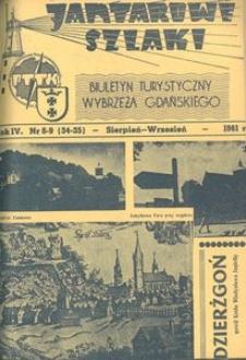 Jantarowe Szlaki, 1961, nr 8-9