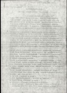 """Informacja Komitetu Obywatelskiego """"Solidarność"""" w Słupsku"""