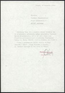 Dyrektor Fundacji Obywatelskiej w Warszawie