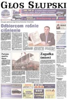 Głos Słupski, 2003, grudzień, nr 287