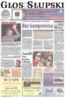 Głos Słupski, 2003, grudzień, nr 291