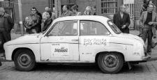 Solidarność 1989 wybory parlamentarne [wiec przedwyborczy przed słupskim ratuszem 1]