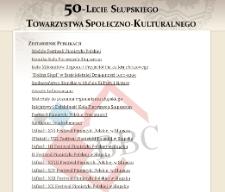 50 lat Słupskiego Towarzystwa Społeczno-Kulturalnego