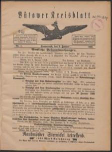 Bütower Kreisblatt 1909