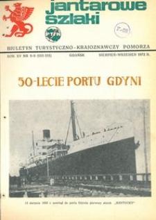 Jantarowe Szlaki, 1972, nr 8-9