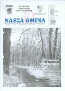 Nasza Gmina. Miesięcznik Samorządowy Gminy Wejherowo, 2003, styczeń, Nr 1 (80)