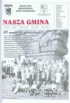 Nasza Gmina. Miesięcznik Samorządowy Gminy Wejherowo, 2003, marzec, Nr 3 (83)
