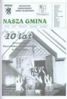 Nasza Gmina. Miesięcznik Samorządowy Gminy Wejherowo, 2003, kwiecień, Nr 4 (83)
