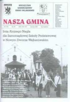 Nasza Gmina. Miesięcznik Samorządowy Gminy Wejherowo, 2003, czerwiec, Nr 6 (85)