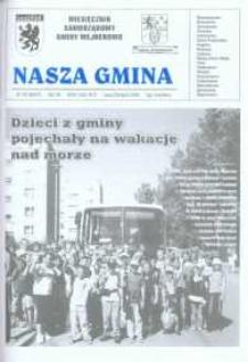 Nasza Gmina. Miesięcznik Samorządowy Gminy Wejherowo, 2003, lipiec/sierpień, Nr7/8 (86/87)