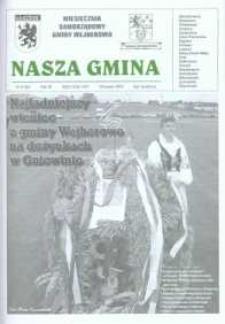 Nasza Gmina. Miesięcznik Samorządowy Gminy Wejherowo, 2003, wrzesień, Nr 9 (88)
