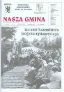 Nasza Gmina. Miesięcznik Samorządowy Gminy Wejherowo, 2003, październik, Nr 10 (89)