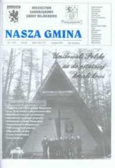Nasza Gmina. Miesięcznik Samorządowy Gminy Wejherowo, 2003, listopad, Nr 11 (90)