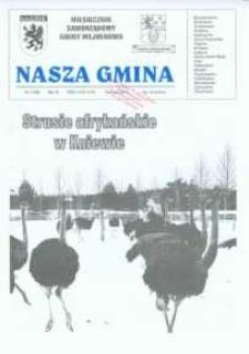 Nasza Gmina. Miesięcznik Samorządowy Gminy Wejherowo, 2002, styczeń, Nr 1 (68)