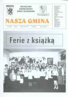 Nasza Gmina. Miesięcznik Samorządowy Gminy Wejherowo, 2002, luty, Nr 2 (69)
