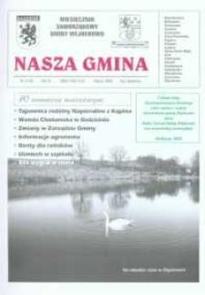 Nasza Gmina. Miesięcznik Samorządowy Gminy Wejherowo, 2002, marzec, Nr 3 (70)