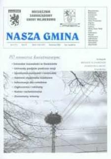 Nasza Gmina. Miesięcznik Samorządowy Gminy Wejherowo, 2002, kwiecień, Nr 4 (71)