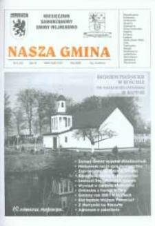 Nasza Gmina. Miesięcznik Samorządowy Gminy Wejherowo, 2002, maj, Nr 5 (72)