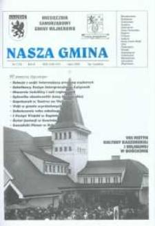 Nasza Gmina. Miesięcznik Samorządowy Gminy Wejherowo, 2002, lipiec, Nr 7 (74)