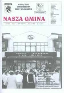 Nasza Gmina. Miesięcznik Samorządowy Gminy Wejherowo, 2002, wrzesień, Nr 9 (75)