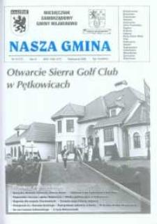 Nasza Gmina. Miesięcznik Samorządowy Gminy Wejherowo, 2002, październik, Nr 10 (77)