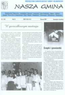 Nasza Gmina. Miesięcznik Samorządowy Gminy Wejherowo, 2001, styczeń, Nr 1 (59)