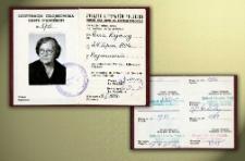 Legitymacja Członkowska : Karte D'adherent Nr 376