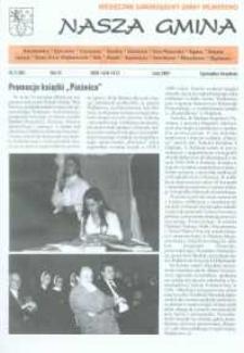 Nasza Gmina. Miesięcznik Samorządowy Gminy Wejherowo, 2001, luty, Nr 2 (60)