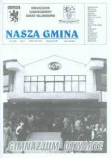 Nasza Gmina. Miesięcznik Samorządowy Gminy Wejherowo, 2001, wrzesień, Nr 6 (64)