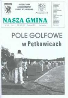 Nasza Gmina. Miesięcznik Samorządowy Gminy Wejherowo, 2001, październik, Nr 7 (65)