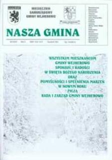 Nasza Gmina. Miesięcznik Samorządowy Gminy Wejherowo, 2001, grudzień, Nr 9 (67)