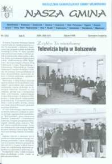 Nasza Gmina. Miesięcznik Samorządowy Gminy Wejherowo, 1999, styczeń, Nr 1 (35)