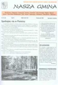 Nasza Gmina. Miesięcznik Samorządowy Gminy Wejherowo, 1999, październik, Nr 10 (44)