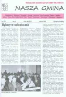 Nasza Gmina. Miesięcznik Samorządowy Gminy Wejherowo, 1999, marzec, Nr 3 (37)
