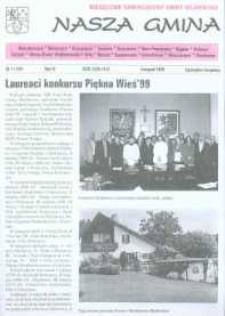 Nasza Gmina. Miesięcznik Samorządowy Gminy Wejherowo, 1999, listopad, Nr 11 (45)