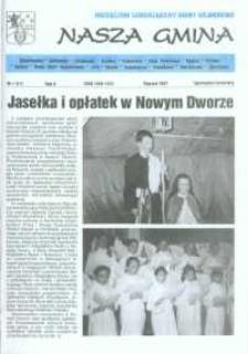 Nasza Gmina. Miesięcznik Samorządowy Gminy Wejherowo, 1997, styczeń, Nr 1 (11)