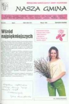Nasza Gmina. Miesięcznik Samorządowy Gminy Wejherowo, 1997, marzec, Nr 3 (13)